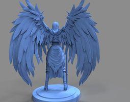 angel 3d model ztl