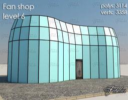 Fan Shop 3D asset