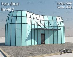 Fan Shop 3D model
