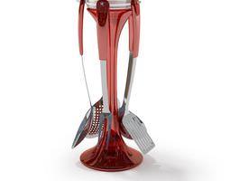 Kitchen Utensils Holder 3D model