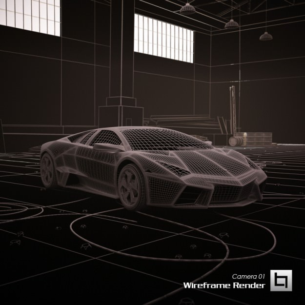 Lamborghini reventon 3d model animated max obj 3ds fbx for Lamborghini reventon interior