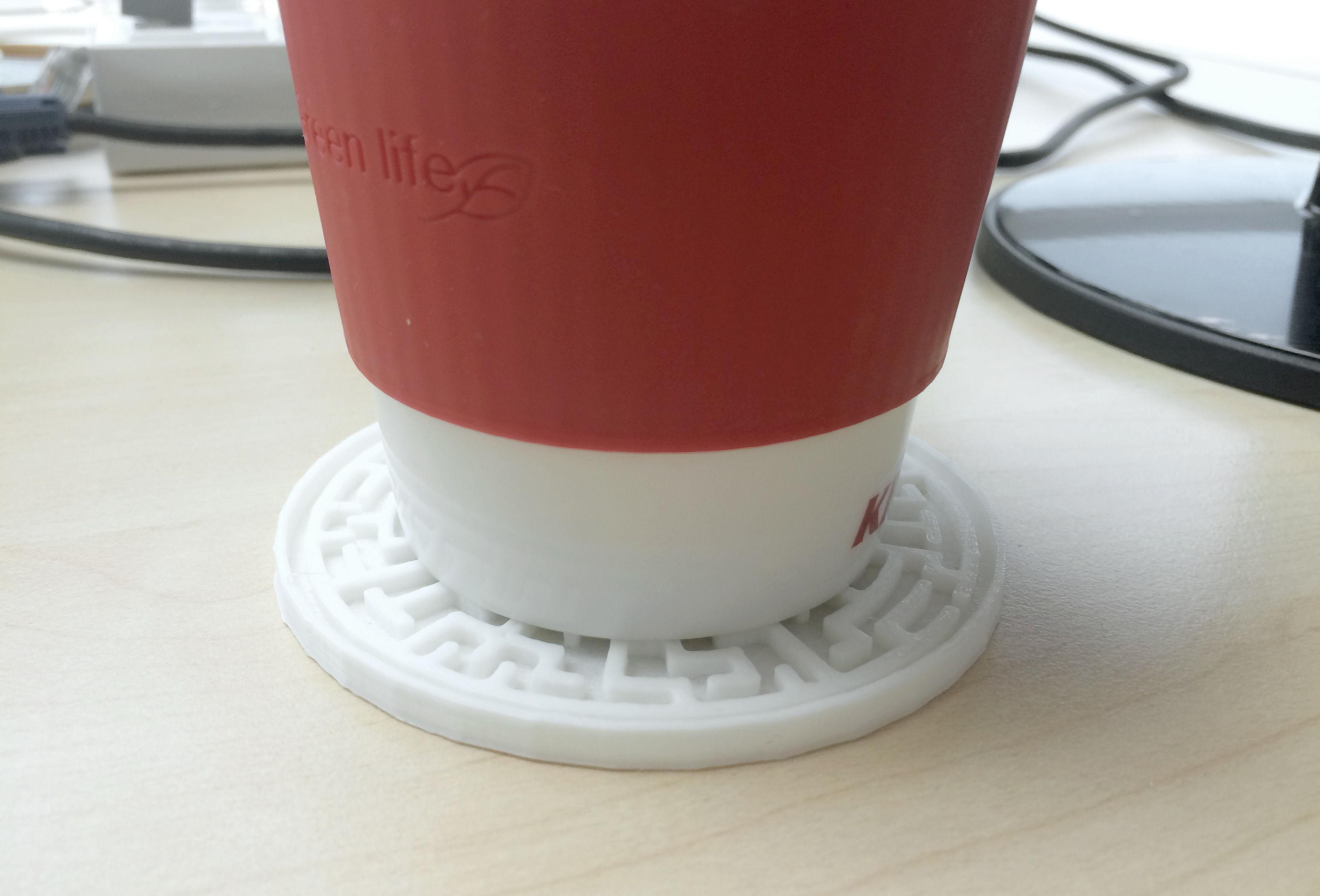 Maze Coaster 3d Model 3d Printable Stl Cgtrader Com