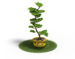3D model green Green Potted Plant