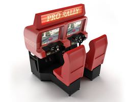 Rally Game Machine 3D model