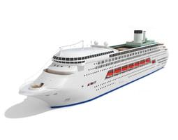3d luxury cruise ship