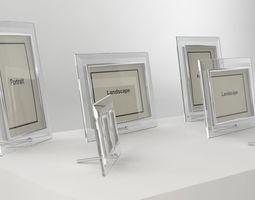 Glass Photo Frames 3D model