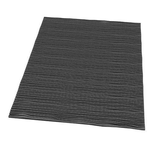 black stripped rug 3d model obj mtl 1
