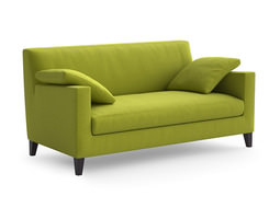Ligne Roset Citta sofa and armchair 3D model