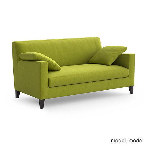 ligne roset citta sofa and armchair 3d model cgtrader. Black Bedroom Furniture Sets. Home Design Ideas