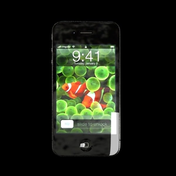 how to transfer video from iphone to computer apple iphone 4 high detail 3d model max obj 3ds fbx 3433