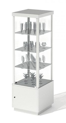 Storage For Displaying Glasses 3D Model
