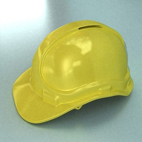 safety helmet 3d model max 3ds fbx mtl mat 1