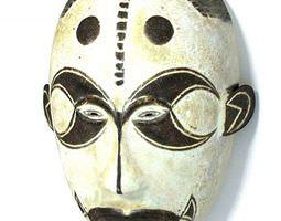 Unique African Mask 3D