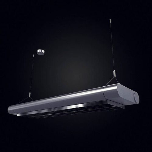 Hanging Ceiling Light 3d Autocad Model: Ceiling Hanging Light Fixture 3D
