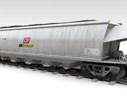 VCA Coal Hopper Wagon 3D
