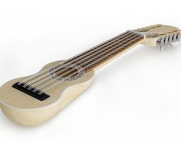 3D String Guitar Instrument