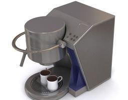 Kitchen Espresso Machine 3D