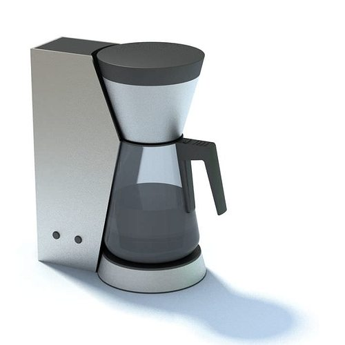 Modern High End Coffee Maker 3d Cgtrader