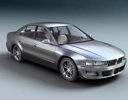 Mitsubishi Galant Sedan Car 3D