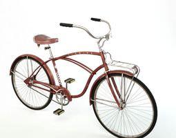 3D model Old Brown Bicycle