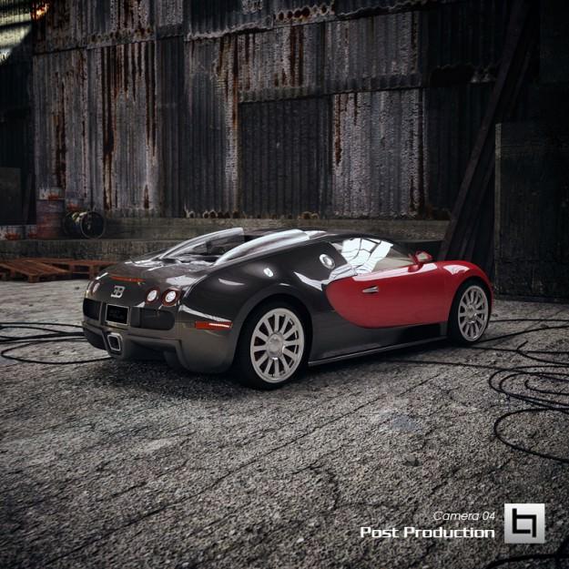 bugatti veyron 3d model animated max obj 3ds fbx mtl. Black Bedroom Furniture Sets. Home Design Ideas