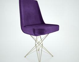 Arketipo Athena chair 3D model