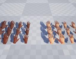 3D model Hands for VR Basic - Unreal Engine 4