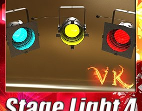 Spotlight Stage Light 04 3D