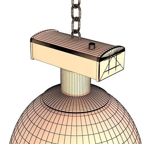 Industrial Light Fixture 3D Model MAX OBJ 3DS FBX