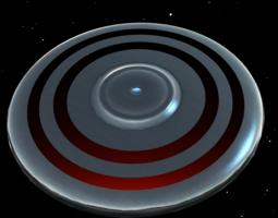 ufo iii 3d model obj 3ds