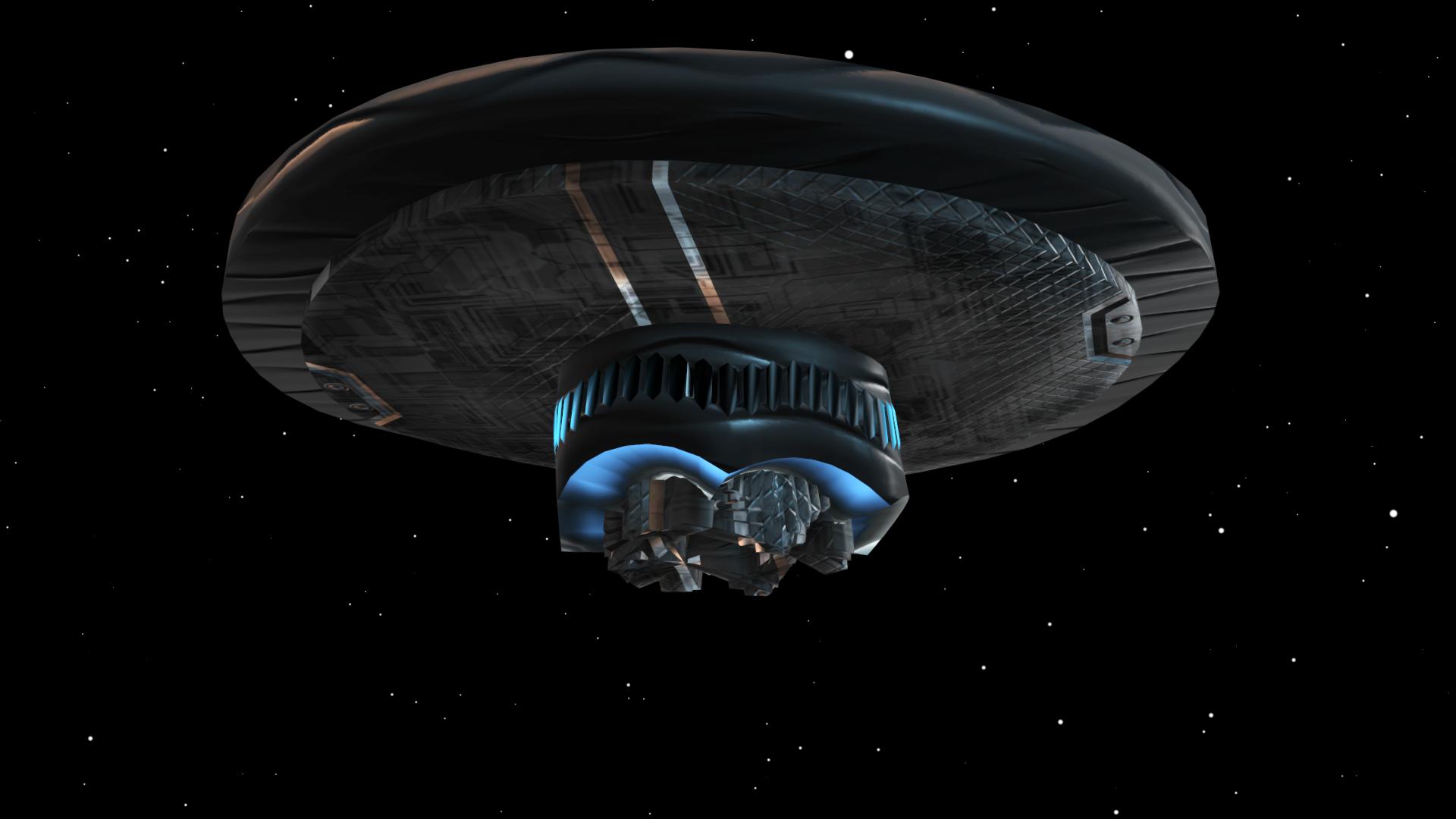 Real alien spacecraft