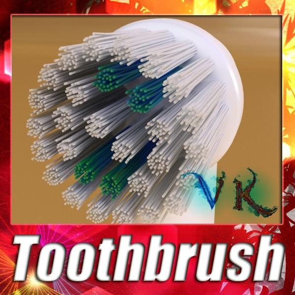 Electric Toothbrush High Detail