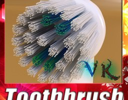 3d electric toothbrush high detail