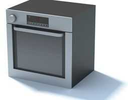 3D model Electric Oven
