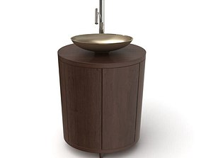 3D Furniture Bathroom Set