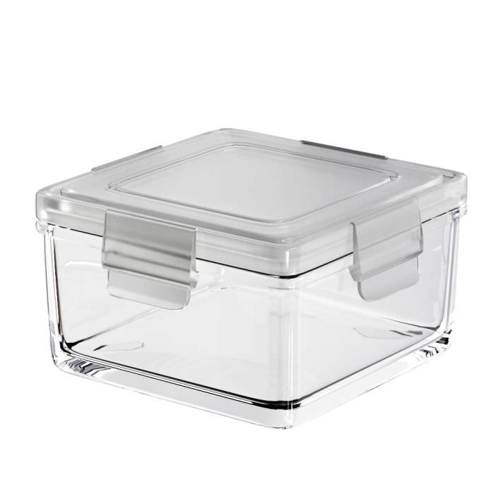 Clear Kitchen Plastic Container 3D model | CGTrader