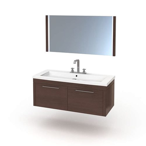 Model Bathroom Sink And Cabinets 3d Model