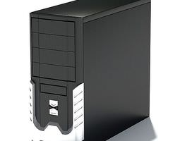 3D model Computer Tower Accessory