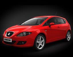 3D Car Seat Leon Ii