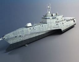 Military Battle Ship 3D