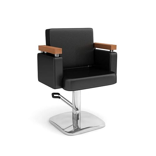 Attirant Beauty Parlor Chair 3D Model