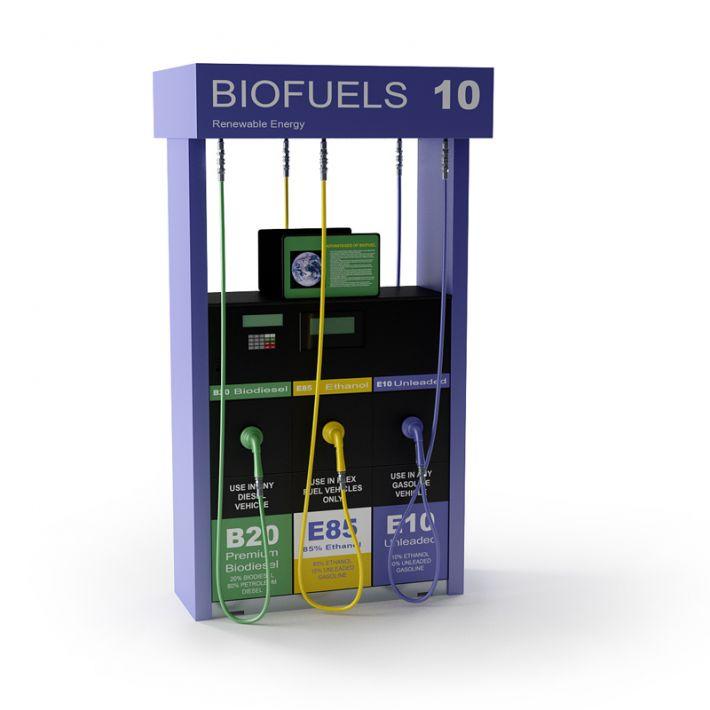 Biofuels Gas Pump