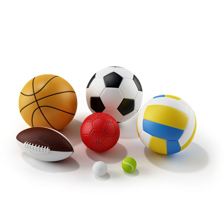 Childrens Sports Balls | 3D model