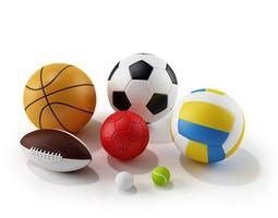 3D model Childrens Sports Balls