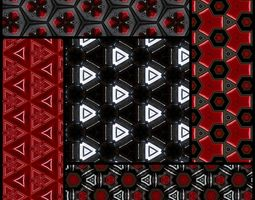 85 HD tech textures scifi 3D
