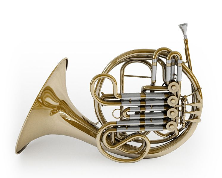 Majestic Classic French Horn | 3D model