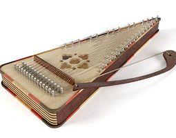 string musical instrument 3d