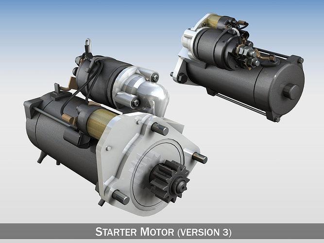 Starter Motor 03