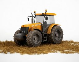 Agriculture Vehicle Truck 3D