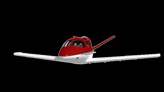 cirrus vision sf-50 3d model max tga 1